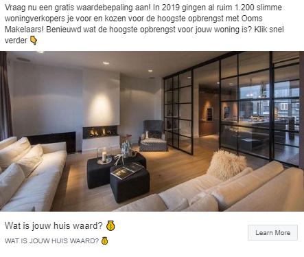 huiswaarde luxe foto makelaar facebook