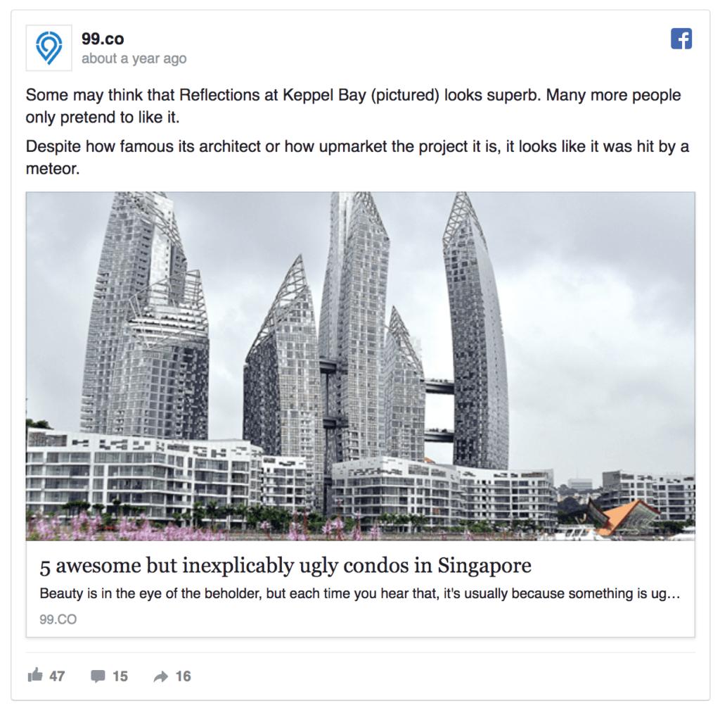 Makelaar Facebook Ad Voorbeeld Blog