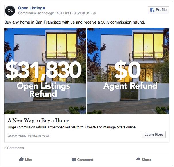 Makelaar Facebook Ad Voorbeeld 7