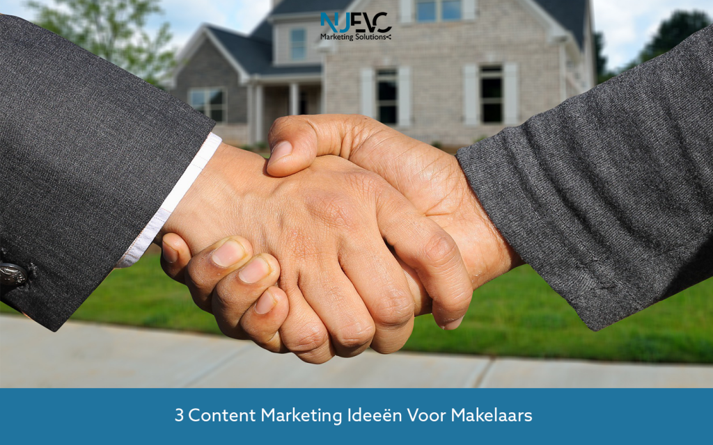 content marketing facebook makelaar